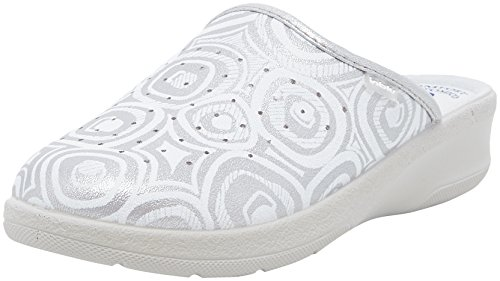 Inblu madama, scarpe da lavoro donna, argento, 38 eu