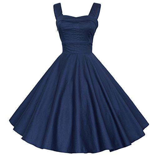 maggie-tang-1950annsses-vintage-rsstro-cocktail-swing-rockabilly-boule-peignoir-robe-bleu-2xl