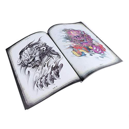 China Traditionelle Oper Malerei Zeichnung Tattoo Flash Sketch Nachschlagewerk