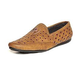 TEN Tan Loafers