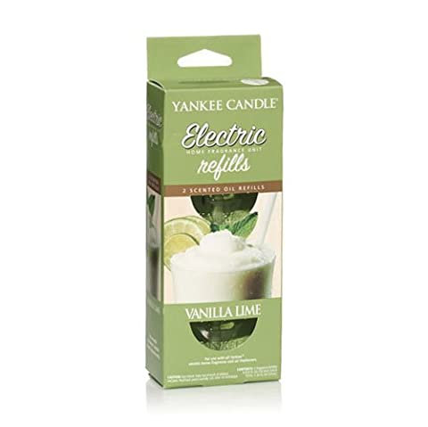 Yankee Candle Vanilla Lime Electric Home Fragrance Diffuser Twin Refill
