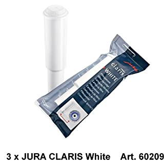 Jura Claris White - Cartuchos para filtros de cafeteras (3 unidades) (B004MROO7M) | Amazon price tracker / tracking, Amazon price history charts, Amazon price watches, Amazon price drop alerts