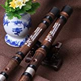 Professional Chinese Bamboo Flute Chinese Dizi Instrument with Accessories