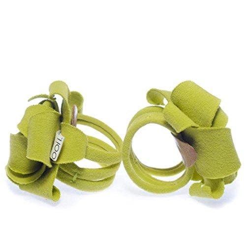 Culater® Pour 0-12 Mois Bébé Tout Filles Infantile Chaussette Sandales Barefoot Toe Blooms Chaussures (Rose) vert