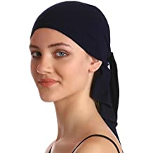 Deresina Bandana unisexe en coton et bambou pour perte de cheveux, cancer,  chimiothérapie 906a9271d51