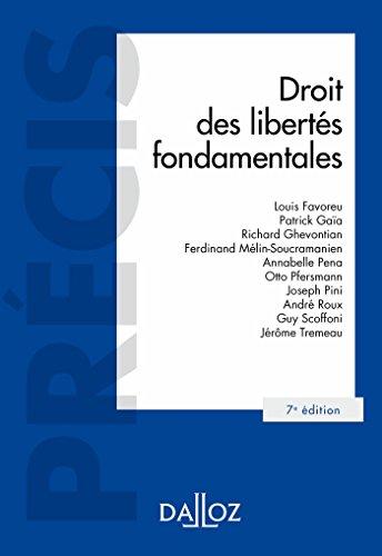Droit des libertés fondamentales (Précis) (French Edition)