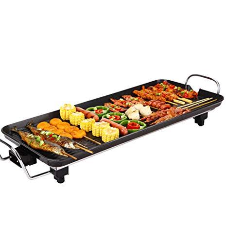 DSADDSD Elektrische Backform, Multifunktions-Elektrogrill, Haushalt ist Nicht klebrig, Elektro-Backofen, rauchfreies Barbecue,