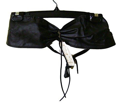 Modestone Women's Leather Bikini Top Adjustable O/S Bailey Western Top