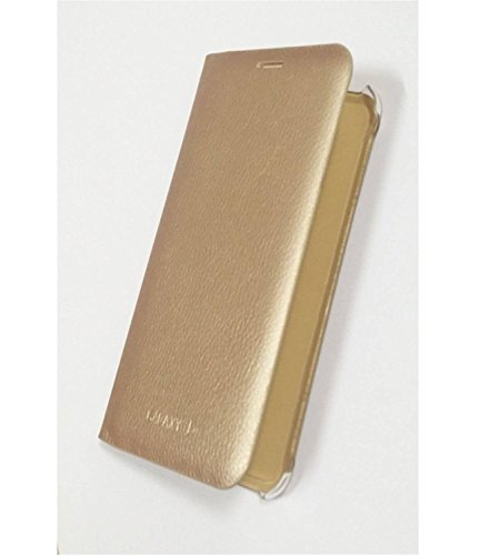 PCM S View Leather Flip Cover Case Samsung galaxy J7 -Gold  available at amazon for Rs.199