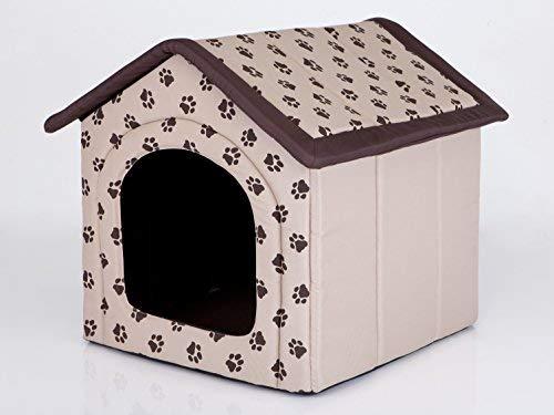 Hobbydog - Casa para Perro, tamaño 3, Color Beige con Patas