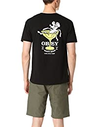 OBEY - T-shirt - Homme noir noir
