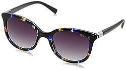 IDEE Gradient Square Womens Sunglasses - (IDS2190C3SG|53|Smoke Gradient Color)