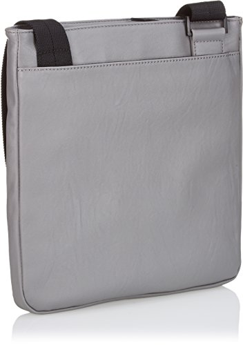 Calvin Klein Jeans ASHER FLAT PACK, Borsa a tracolla uomo CarbonGrey-Eur
