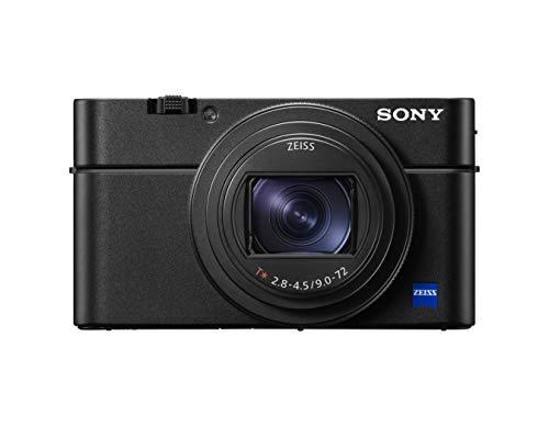 Sony DSC-RX100M7 Appareil Photo numérique Compact Premium ultra-rapide Objectif zoom 24-200 mm, Noir