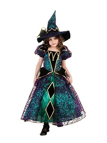 Rubie's 2884883S Radiant Witch, Kostüm für Kinder, S