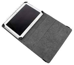 Etui noir DURAGADGET pour tablette tactile Carrefour CT1020W et Touch Tablet 8GB CT 1010W