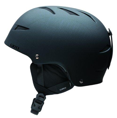 Giro Jugend Recruit 22009Snow Helm, Matte Black Block Letters (Giro Ski-jugend Helm)