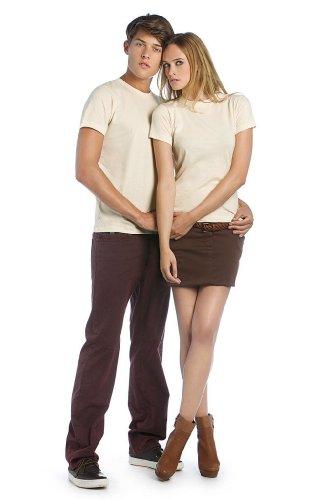 B&C - T-shirt - Manches Courtes - Femme Blanc - Blanc