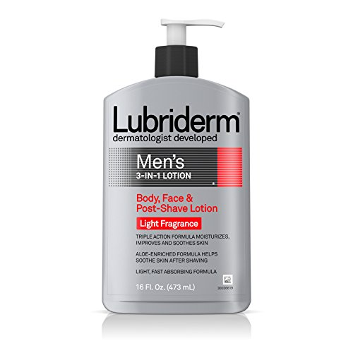 lubriderm-mens-3-in-1-lotion-body-face-and-post-shave-lotion-light-fragrance-16-ounce