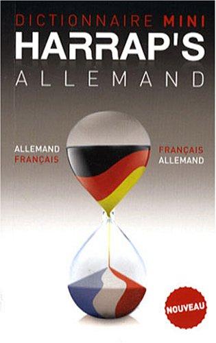 Dictionnaire français-allemand allemand-français Mini por Gabrielle Villard