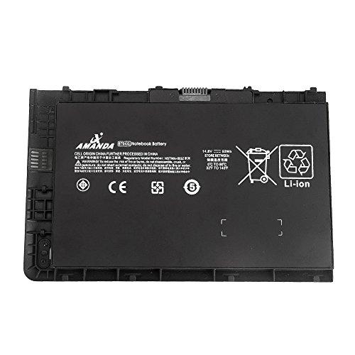 K KYUER 52Wh BT04XL Laptop Akku für HP EliteBook Folio 9470 9470M 9480M Ultrabook BA06 BA06XL H4Q47AA H4Q48A BT04 HSTNN-IB3Z HSTNN-I10C 687517-241 687945-001 687517-171 HSTNN-DB3Z Notebook Battery
