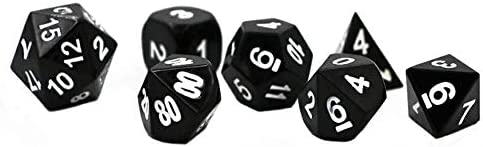 Haodene Dés Polyédriques, 7Pcs/Set TY04 Polyédrique Jeu De Dés, Dés, Dés, Dés Jeux De Role Donjons Et Dragons D&D RPG MTG Dice D4 D6 D8 D10 D12 D20 | Un Prix Raisonnable  5fbcf8