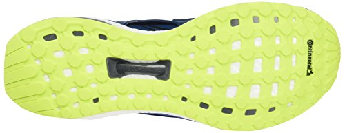 adidas Herren Energy Boost Laufschuhe Blau (Blue Night F17/Blue Night F17/Solar Yellow)