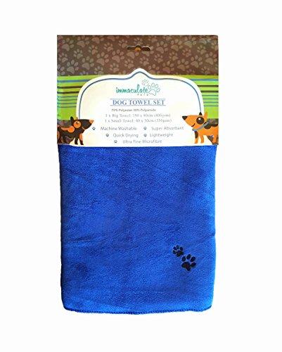 immaculate-pets-xl-asciugamano-in-microfibra-di-set-per-cane-150-x-80-cm-40-x-30-cm