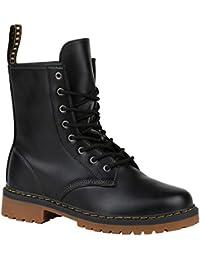 Stiefelparadies Unisex Damen Herren Stiefeletten Worker Boots Übergrößen  Flandell cba7ee0b8d
