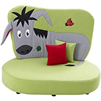 "Kindersofa ""Esel"", gepolstert, Made in Germany! preisvergleich bei kinderzimmerdekopreise.eu"