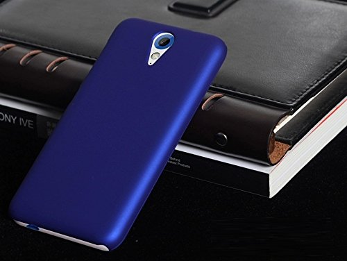 WOW Imagine™ Rubberised Matte Hard Case Back Cover for HTC Desire 620 620G Dual - Uber Blue