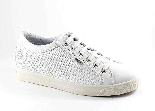 IGI & CO weiße Schuhe 77.911 Sneaker Schnürsenkel Bianco