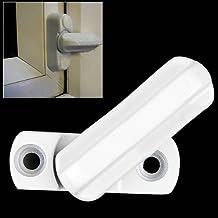 Lqking Supply - Recambio de pestillo de seguridad para puertas y ventanas, color blanco