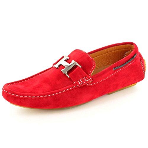 my-perfect-pair-zapato-para-hombre-de-color-rojo-de-talla-uk-9-eu-43
