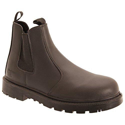 Grafters Grinder - Chaussures Montantes de Sécurité - Homme Marron
