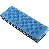 Cojín plegable para deporte el Camping en plein air-rouge, color azul, tamaño 27 x 9.5 x 4cm