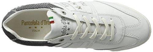 Pantofola d'Oro Herren Imola Funky Uomo Low Sneaker Weiß (Bright White)