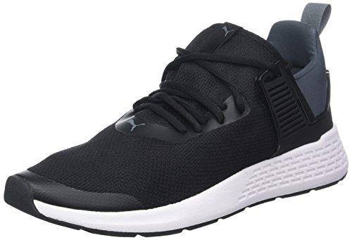 Puma Unisex-Erwachsene Insurge Mesh Sneaker, Schwarz (Puma Black-Iron Gate-Puma White), 39 EU Schwarze Mesh-sneaker