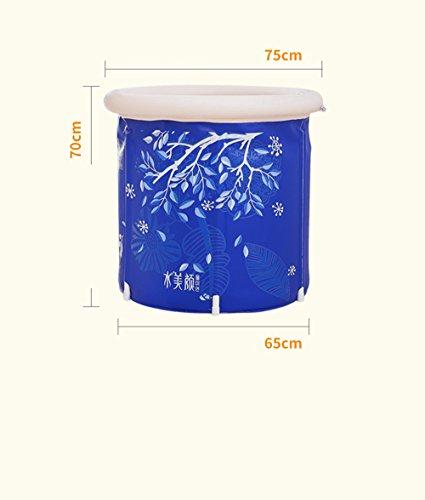 Eingebaute Kissen Bad Kinder Bad Badewanne Kunststoff Startseite Aufblasbare Badewanne Verdickung