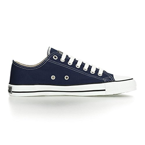 Ethletic Sneaker LoCut aus Bio-Baumwolle – ocean blue / white – fair trade & vegan - 5