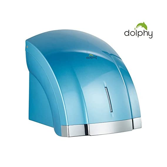 Dolphy Two Waves Automatic Hand Dryer - Light Blue