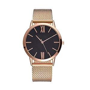 ICNCVKX Fashion Damen-Armbanduhr,Quarz,Analog,bequemes Silikonband,Analoge Armbanduhr,Für Damen,Moderne Und Klassische Geschenke