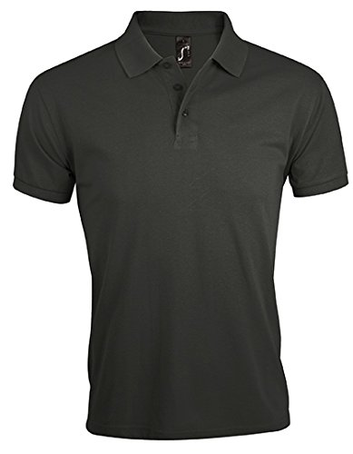 SOL´S Men´s Polo Shirt Prime, XL, Dark Grey (Solid) (Solid Polo-pullover)