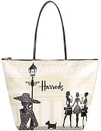 066d537d2 Harrods - Bolso al hombro de pvc para mujer Marfil Bianco shoulder bag