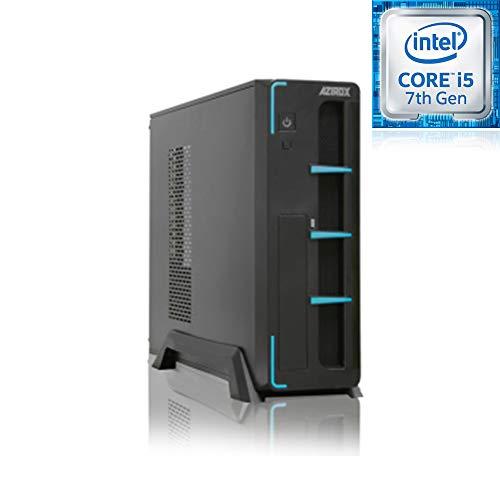 PC Sobremesa Ordenador Azirox Slim Azul Intel i5 7400 3,00 GHz 6 NUCLEOS / 8GB DDR4 2133 MHz / 240GB SSD/Grafica Intel HD 630 /WiFi