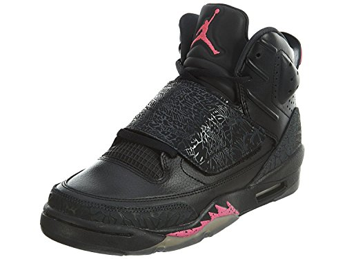 Nike Youth Air Jordan Son of Mars Girls Basketball Shoes Black/Hyper Pink 512242-009 Size - 8 Jordan Air Kinder