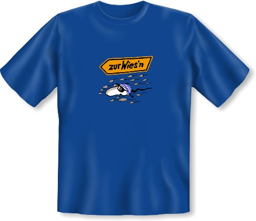 Oktoberfest Fun T-Shirt <->          zur Wies´n          <->           Fun Geschenk, EllerDesign Royal-Blau Royal-Blau