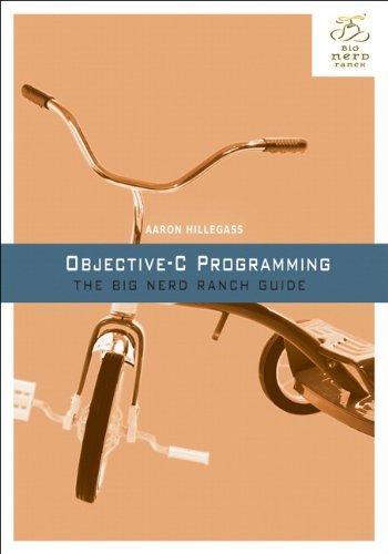Portada del libro Objective-C Programming: The Big Nerd Ranch Guide (Big Nerd Ranch Guides) by Aaron Hillegass (2011-10-28)
