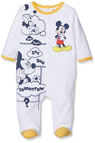 Disney Baby Mickey Mouse pagliaccetto a maniche lunghe Orange 74 cm (12 Mesi)