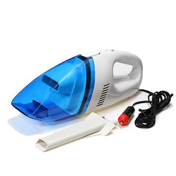 Anva Handheld Mini Super Suction Wet and Dry Dual Use Car Vaccum Cleaner 12-V *Limited Period Offer*